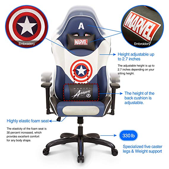 Marvel Racing Game chair