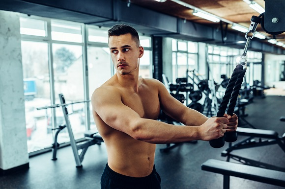working to increase muscle mass